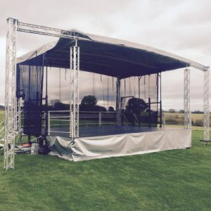 Trailer Stage Hire